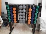 mueble + kit mancuernas - foto