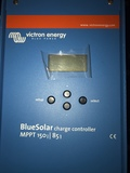 controlador de carga solar - foto