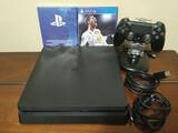 PS4 Slim 1TB + mando + juego - foto