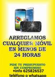 Reparación de móviles en el día .  - foto
