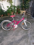 bici de niña - foto