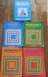 Lote de libros Santillana años 80. - foto