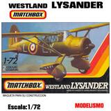 MAQUETA Avion Westland LYSANDER 1:72 - foto