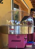 Maquina para hacer algodon de azucar - foto