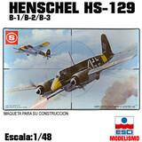 Maqueta avion ataque henschel hs-129 - foto