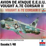 Maqueta avión vought a.7e corsair ii - foto