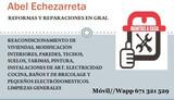 REPARACION, REFORMAS, CONSTRUCCIÓN GRAL - foto