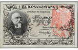 Billete 1000 Pesetas 1905 - foto