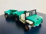 Playmobil jeep remolque safari ref: 3532 - foto