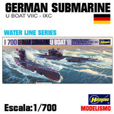 MAQUETA Submarino U Boat VIIC IXC - foto