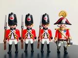 Playmobil soldados napoleonicos - foto