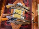 Lote de escopetas de caza. - foto