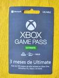 Tarjeta game pass ultimate 3 meses - foto