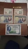 lote 5 billetes España - foto