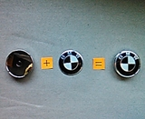 1 Tapabuje recambio BMW N-B 60mm - foto