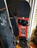 TABLA SNOWBOARD SALOMON + FUNDA NO FEAR - foto