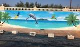 Pintor mural muralista muralismo - foto