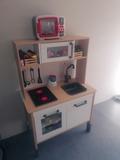 Cocinita de madera Ikea niños - foto