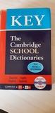 KEY THE CAMBRIDGE SCHOOL DICCIONARIES - foto