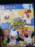 Juego ps4 playstation 4 rabbids invasion - foto
