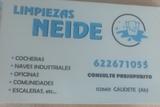 limpiezas y desinfección Neide - foto