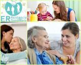 Cuidado a señores mayores y niños  - foto