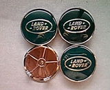 Tapabujes rueda Land Rover verde 68mm - foto