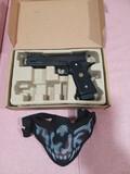 Pistola de airsof y bucal  - foto