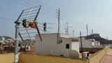 antenas de televisión antenista - foto