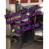 PRENSA EXTRACTORA PARA CACAO  - foto