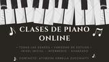 CLASES DE PIANO ONLINE/ PRESENCIALES - foto