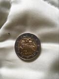 Moneda 2 euros conmemorativa  - foto