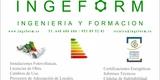 CERTIFICADOS ENERGÉTICOS INGEFORM - foto