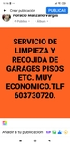 SERVICIOS DE LIMPIEZA portes recogidas - foto