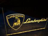 Cartel luminoso Lamborghini - foto