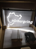 Cartel luminoso circuito Nürburgring - foto