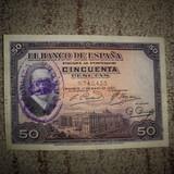 Billete 25 pesetas 1927 - foto