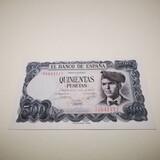 Billete 500 pesetas 1971  - foto