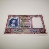 Billete 500 pesetas 1931 - foto