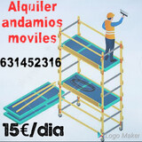 ALQUILER ANDAMIOS MOVILES POR DIAS - foto