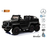 Todoterreno 6x6 Mercedes G63 Color Negro - foto