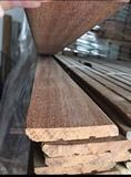 Rodapiés de madera maciza cumaru - foto