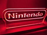 Cartel cuadro luminoso Nintendo - foto