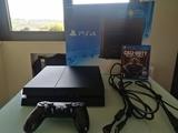 PS4 negro mate 500gb + 1 juego + 1 mando - foto