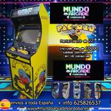 maquina arcade recreativa pac man   - foto