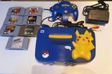 Nintendo 64 edición picachu pokemon - foto