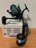 carrete de pesca Daiwa AGP 4500  - foto