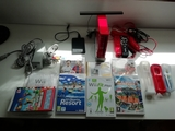 Nintendo wii roja + tabla balance board - foto