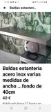 ALGUNAS ESTANTERIAS ACERO INOX - foto