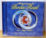 CD MúSICA PARA LA BODA REAL. 22-5-2004
